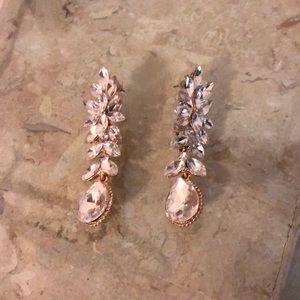 Bebe hanging earrings